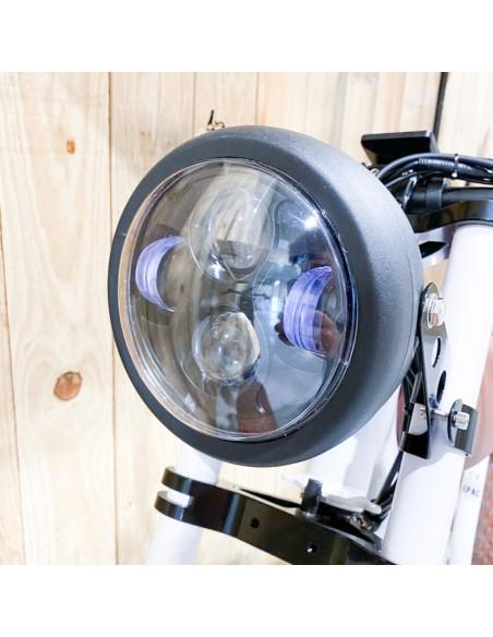 phare led vélo vintage electrique