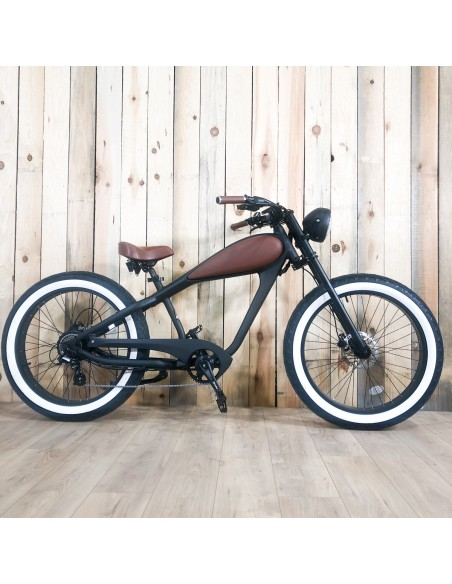urban bike electric black