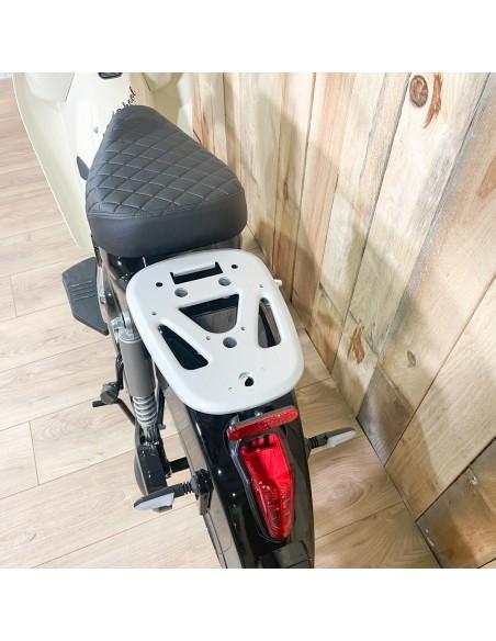 double selle, porte bagage Scooter électrique Volt scoot Unikride biplace