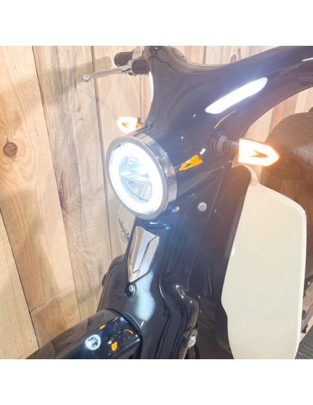 éclairage avant Scooter électrique Volt scoot Unikride biplace
